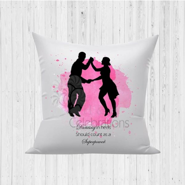 Dancing In Heels Superpower Decorative Cushion